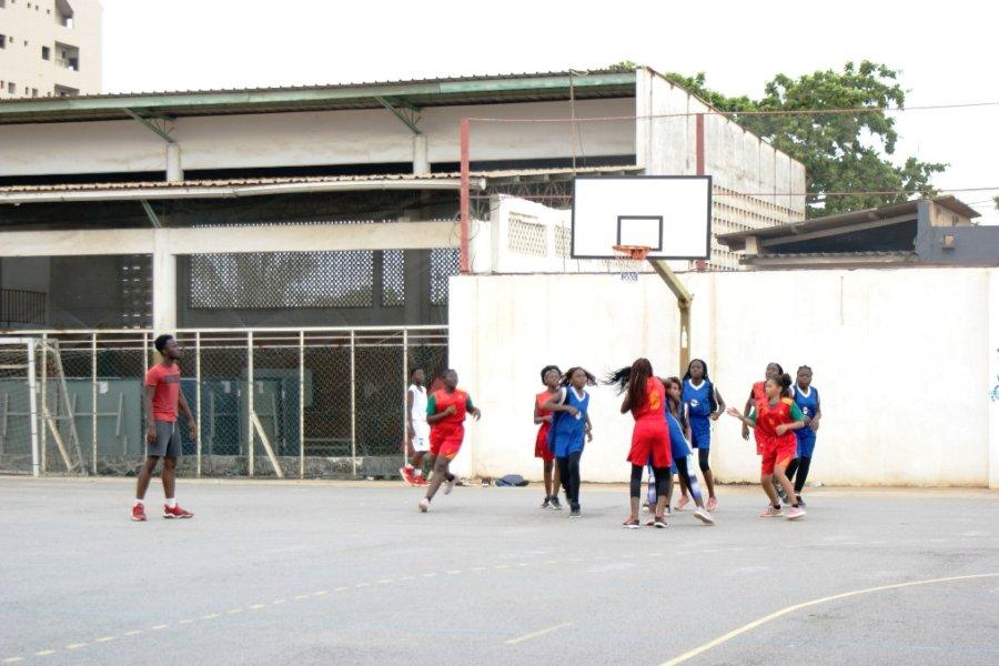 Le match de basketball Filles