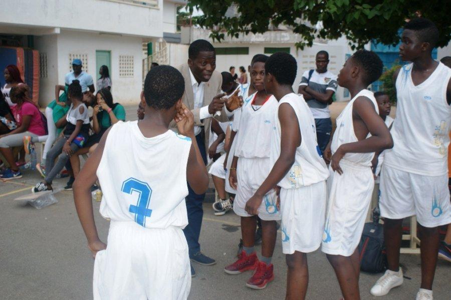 Le match de basketball Garçons
