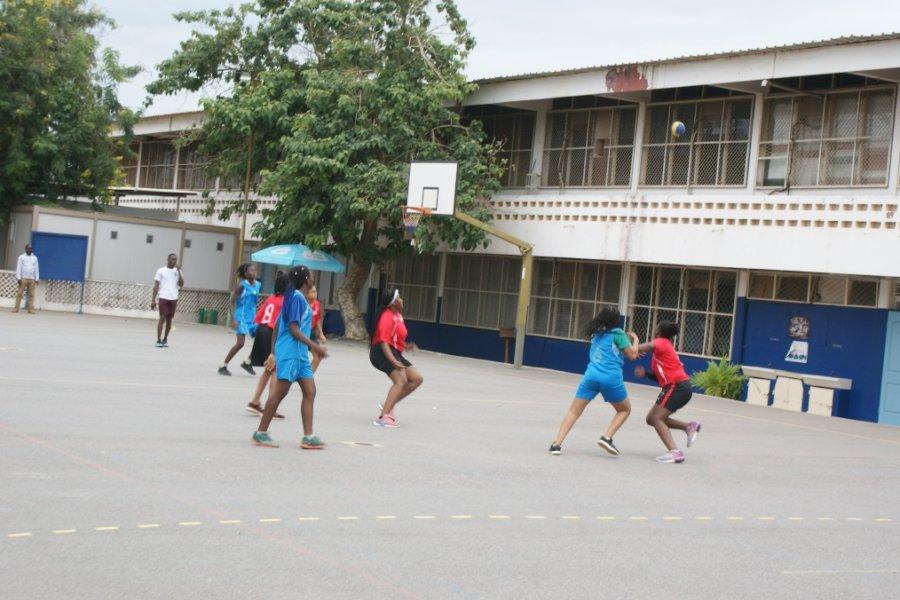 Le match de handball Filles