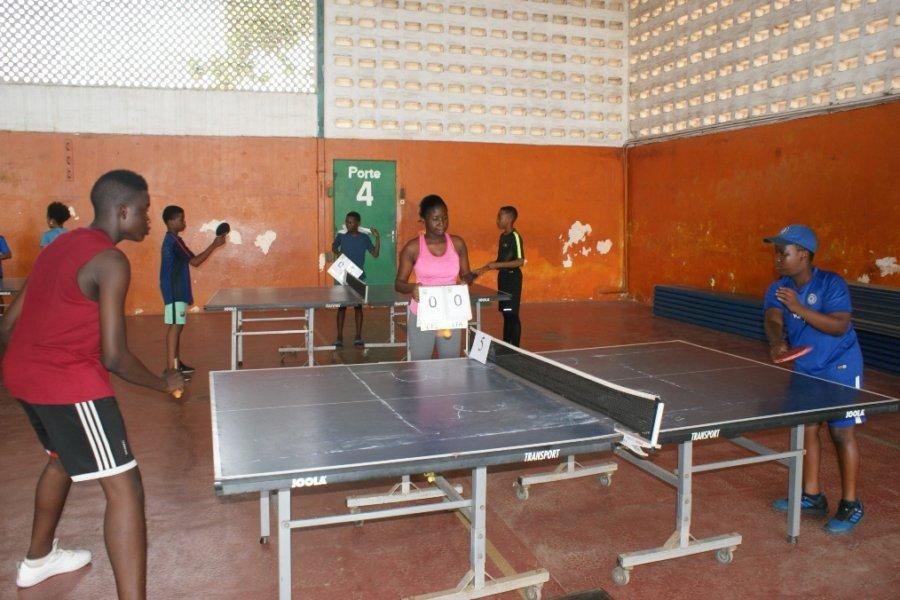 Les matches de tennis de table