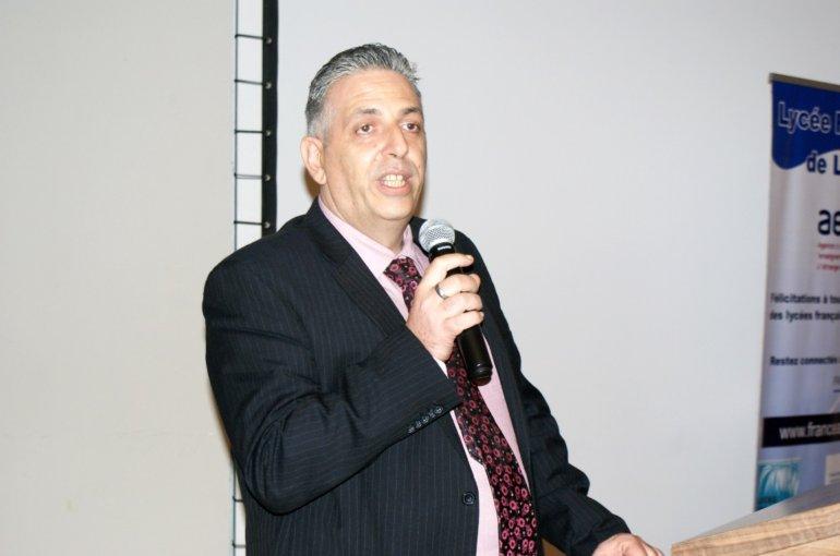 M. Jean-Philippe MAIZOUE, Président de l'APE