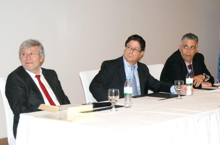 Le Proviseur, l'Ambassadeur et le Président de l'APE